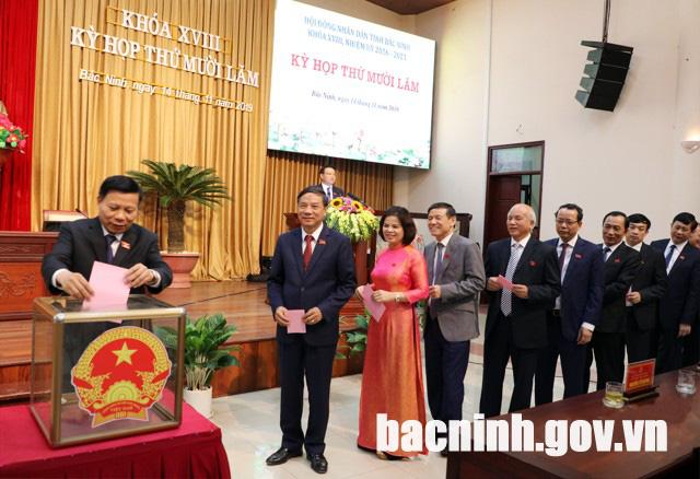 Bắc Ninh có nữ Chủ tịch UBND tỉnh đầu tiên - Ảnh 1.