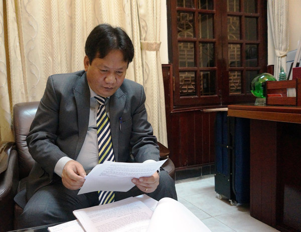 Thanh Trì (Hà Nội): Phó chủ tịch huyện Nguyễn Tiến Cường có quên quyết định xử phạt hành chính? - Ảnh 2.