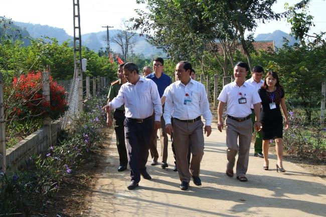 Sơn La: Thẩm định xã đạt chuẩn nông thôn mới Cò Nòi - Ảnh 2.
