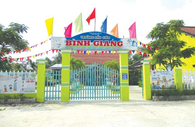 Bình Giang quyết tâm giữ vững danh hiệu nông thôn mới - Ảnh 2.