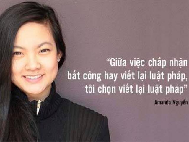 """Cô gái gốc Việt """"cứu tinh"""" của người bị hiếp dâm ở Mỹ"""