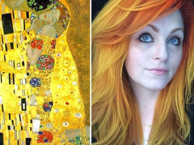 Cô gái biến mái tóc thành những tác phẩm nghệ thuật