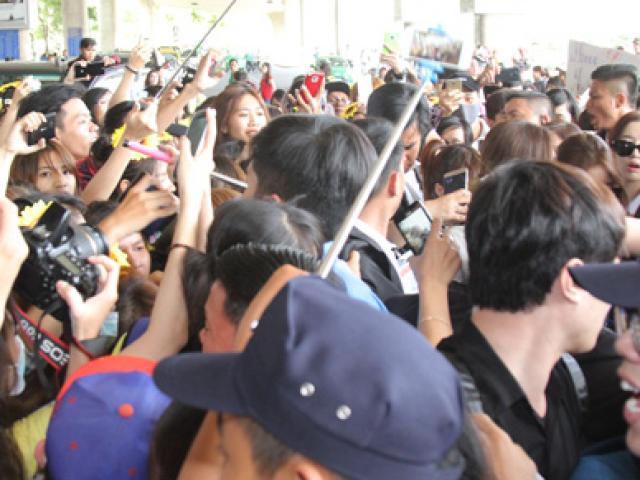 Clip fan Việt la hét, giẫm đạp nhau vì T-ara