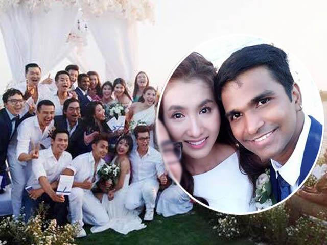 Lễ cưới lung linh trên bãi biển của Nguyệt Ánh và chồng Ấn Độ