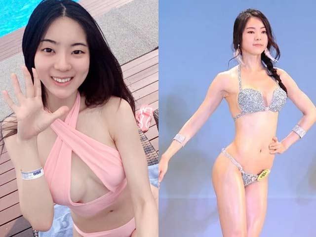 """Chỉ hơn 1 phút, kiều nữ Hàn Quốc khiến anh em """"mất ngủ"""""""