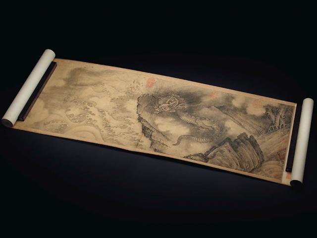 Bức họa quý hiếm của Càn Long được bán giá 112 tỷ đồng