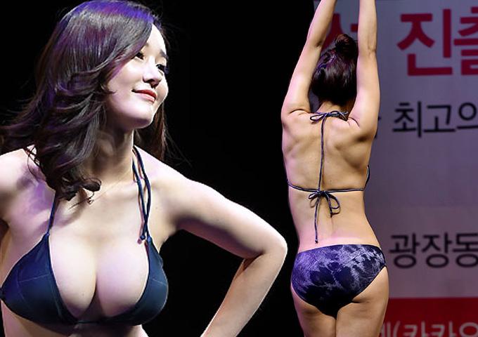 Nóng bỏng cuộc thi Hoa hậu vòng 3 ở Hàn Quốc