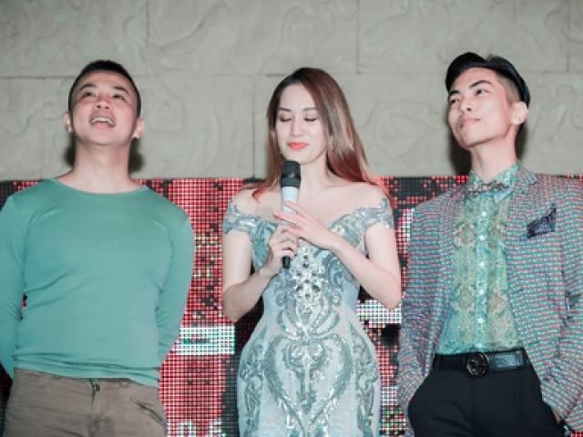 """Khánh Thi """"nức nở"""" khi Phan Hiển gọi mình là vợ trước mặt Chí Anh"""