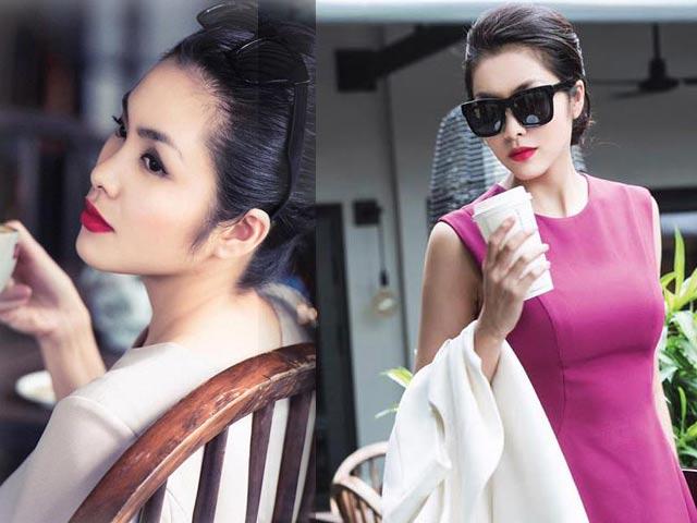 """Vẻ đẹp gái một con của Hà Tăng """"đốn tim"""" người hâm mộ"""