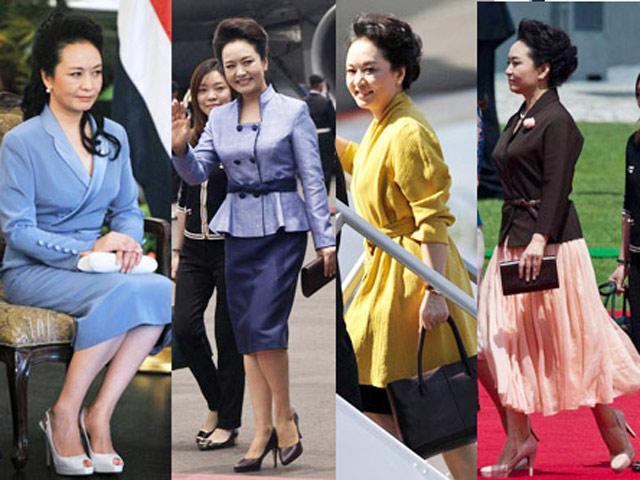 Thời trang đẳng cấp của đệ nhất phu nhân Trung Quốc