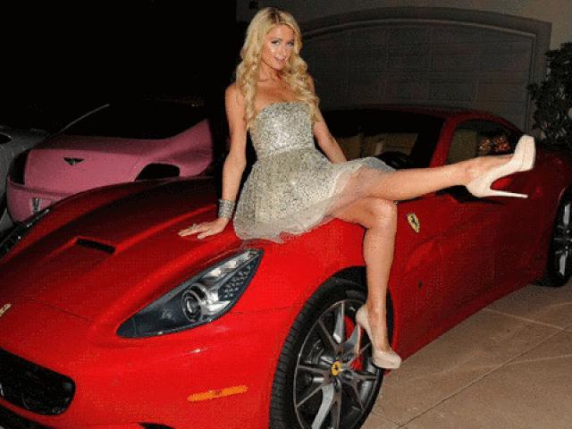 Đỏ mắt với bộ sưu tập siêu xe của Paris Hilton và dàn sao hạng A