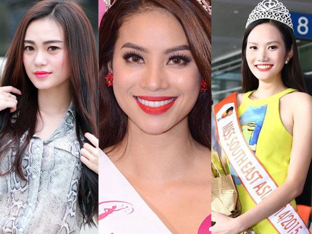 """Những mỹ nhân Việt dính scandal thi sắc đẹp """"chui"""""""