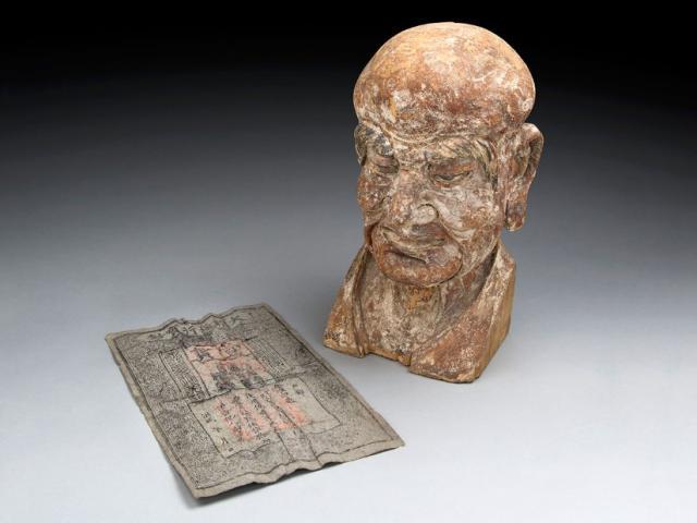 TQ: Phát hiện báu vật trong đầu tượng Phật 700 tuổi