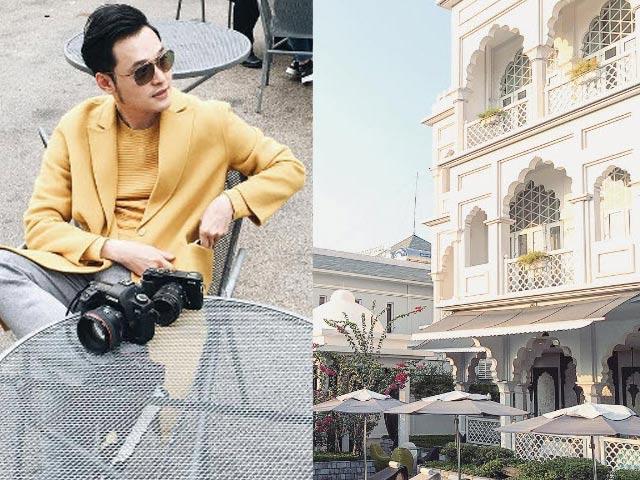 """Khám phá """"nhà"""" đẹp nhất Vbiz của hoàng tử Quang Vinh"""