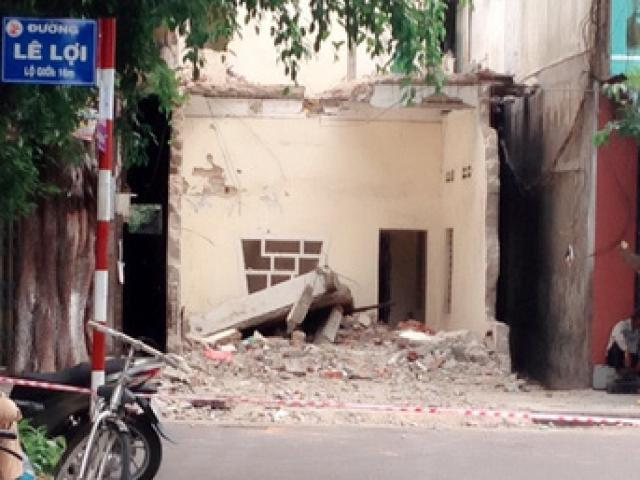 Tháo dỡ nhà, một công nhân bị sàn bê tông đè chết