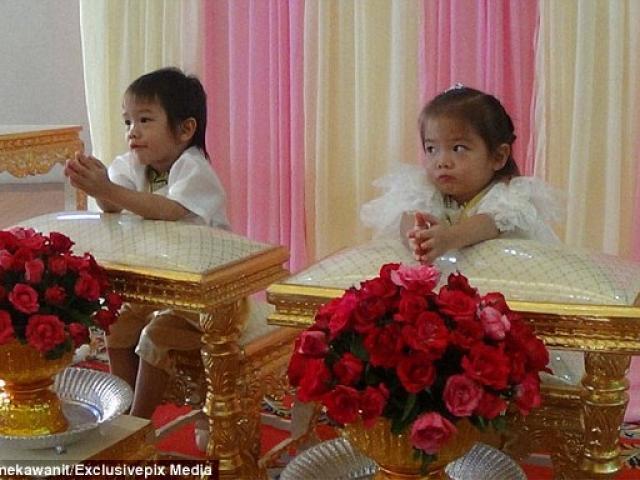 Cặp sinh đôi 3 tuổi cưới nhau vì là tình nhân kiếp trước?!