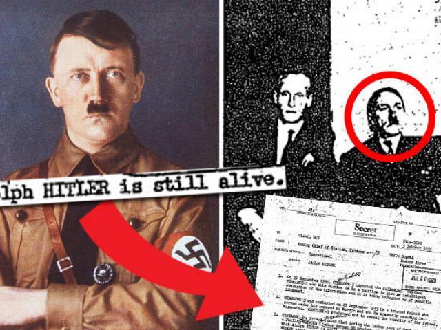 Tài liệu giải mật CIA hé lộ trùm phát xít Hitler sống sót
