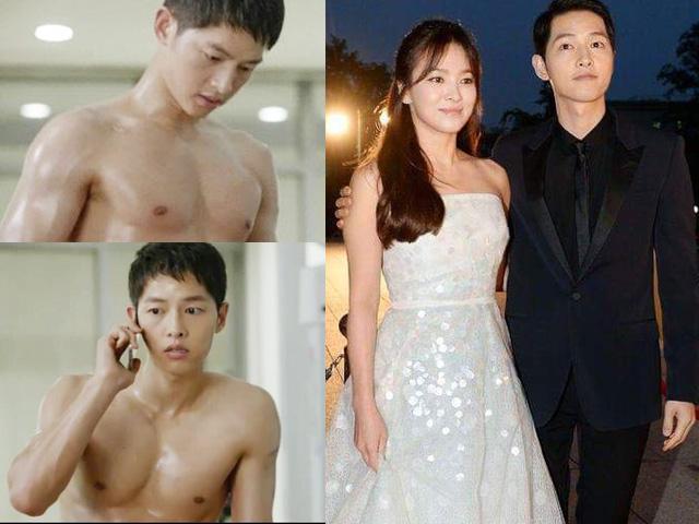 """Bất ngờ với hình thể """"lực điền"""" của chồng Song Hye Kyo"""