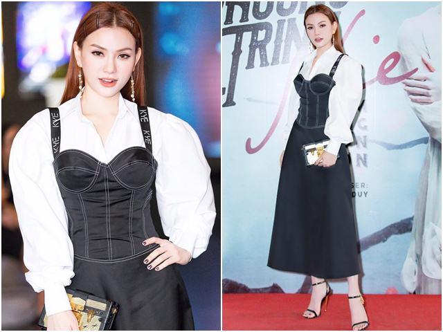 """Sau ly hôn, Thu Thủy liên tiếp """"công phá"""" top mặc đẹp của tuần"""