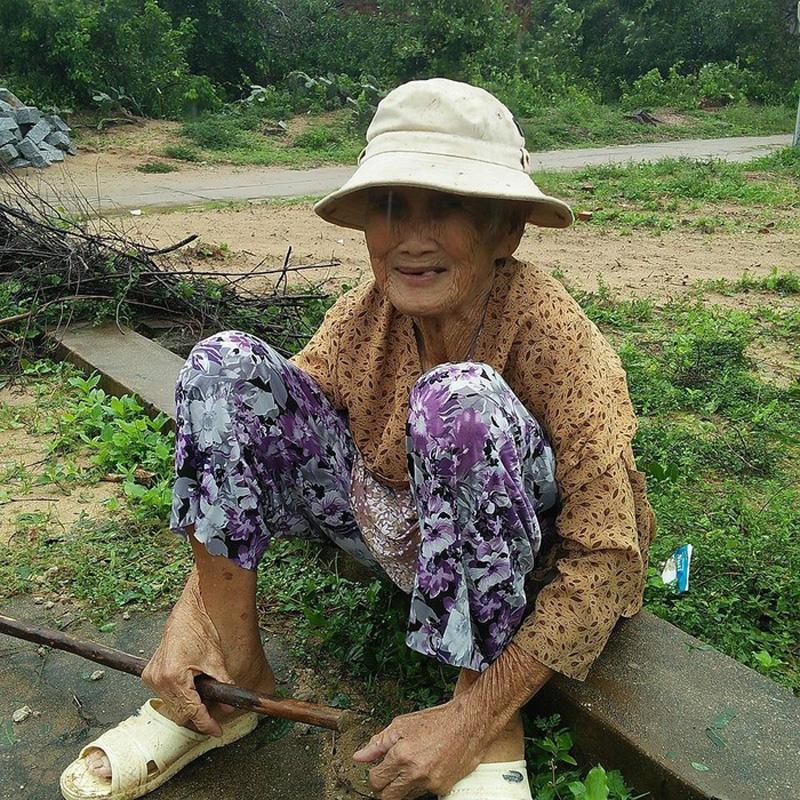 Bà cụ chỉ mong muốn có thể sống nốt quãng đời còn lại với ngôi nhà ông bà để lại. Ảnh: facebook