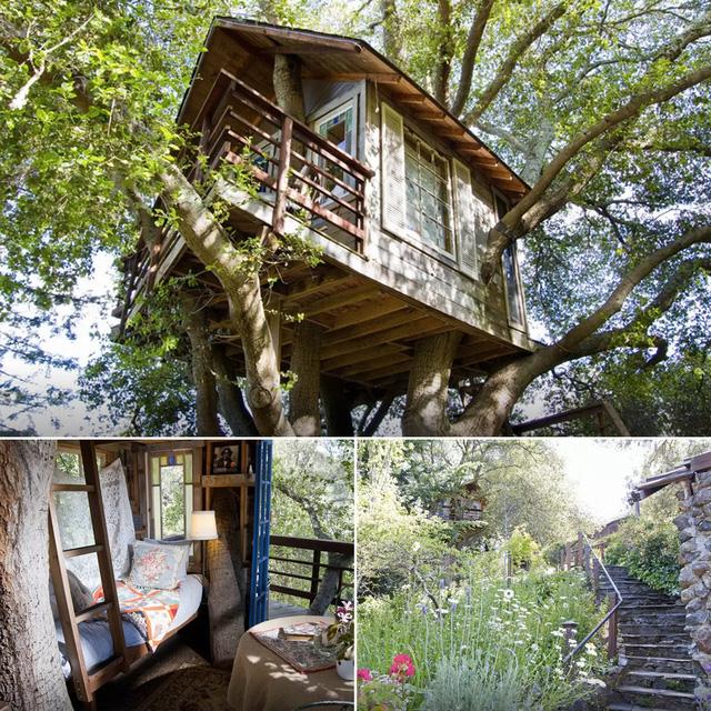 Ngôi nhà ở Burlingame, California.