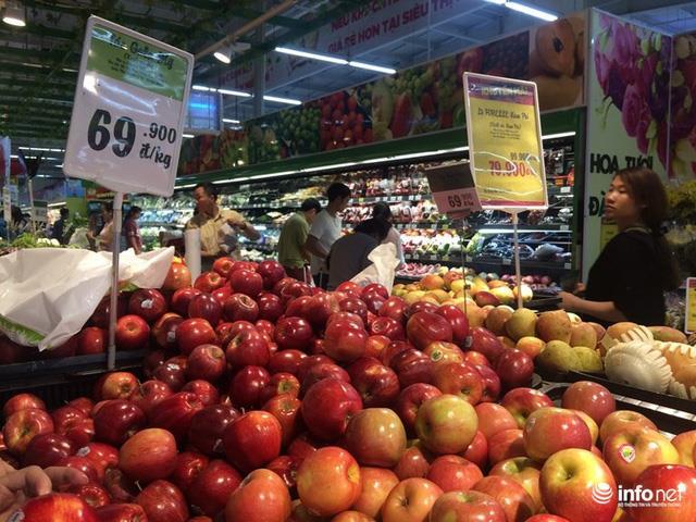 Việt Nam đặt mục tiêu giảm dần lượng nhập khẩu các loại trái cây có thể sản xuất trong nước. (Ảnh: Infonet)