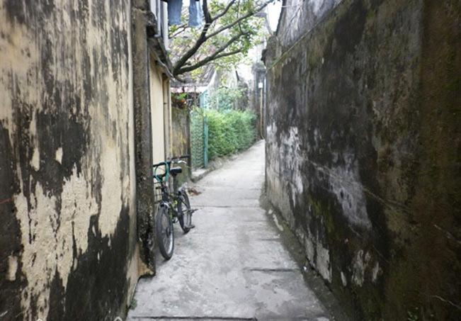 Con hẻm rêu phong phố cổ Hội An. (ảnh: Thanh Trâm)