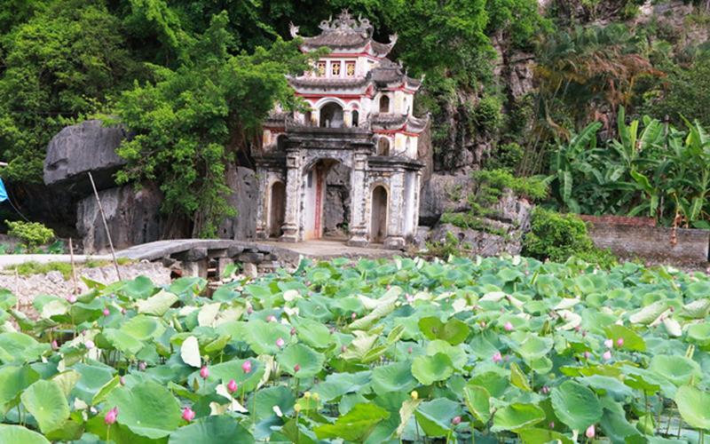 Chùa Bích Động được xây dựng từ năm 1428, thời đầu nhà Hậu Lê. Chùa nằm trên dãy núi đã vôi Trường Yên, xã Ninh Hải, huyện Hoa Lư, tỉnh Ninh Bình. Hiện nay, chùa là di tích lịch sử văn hóa nằm trong Quần thể danh thắng Tràng An được UNESCO công nhận là Di sản văn hóa và thiên nhiên thế giới.