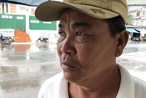 Ông Nguyễn Tèo Anh - một trong những người tham gia cứu các nạn nhân. (Ảnh: Xuân Ngọc).