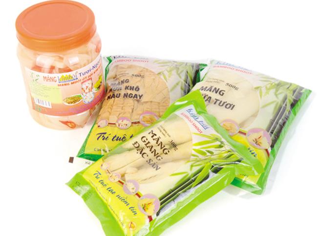 """Sản phẩm """"Măng Tây Bắc"""", thương hiệu nông sản nổi tiếng của Kim Bôi, Hòa Bình."""
