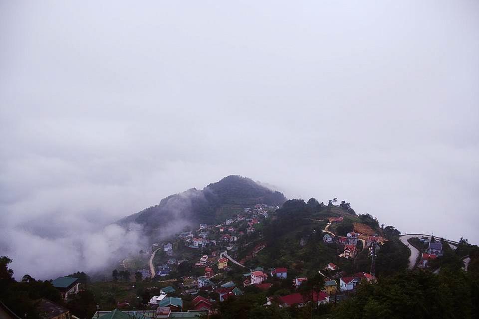 Tam Đảo nằm trên địa bàn ba tỉnh Vĩnh Phúc, Thái Nguyên và Tuyên Quang. Ảnh: Phan Anh