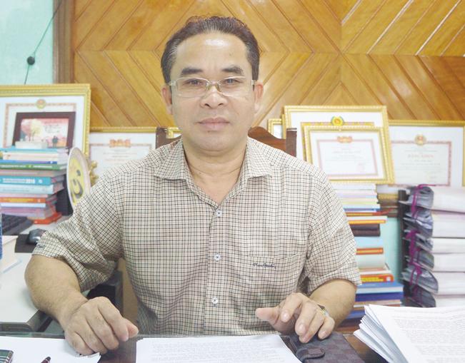 ông Trần Anh Tuấn – nguyên Chủ tịch UBND huyện Bắc Trà My, Giám đốc Sở Nội vụ Quảng Nam