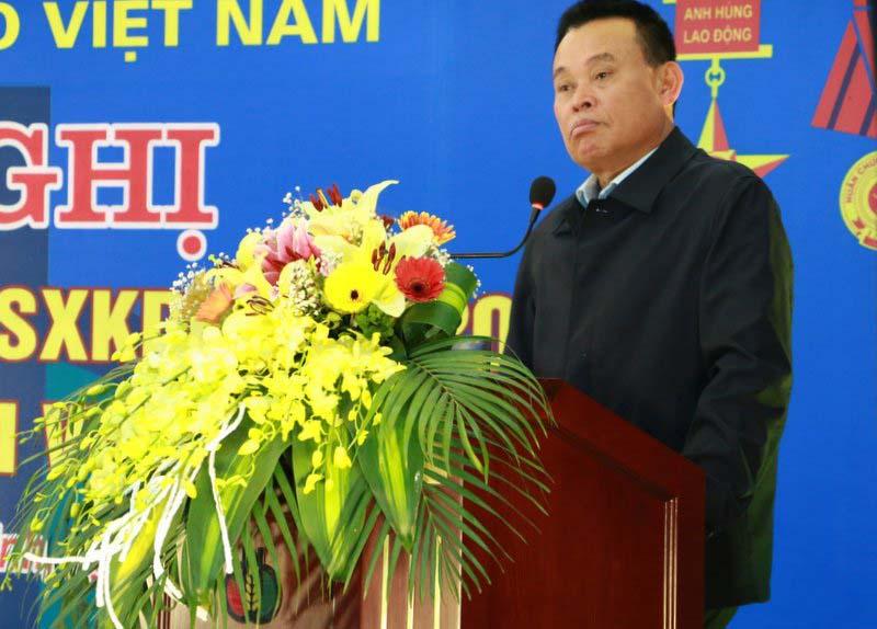 Ông Nguyễn Như So - Chủ tịch HĐQT Tập đoàn phát biểu chỉ đạo