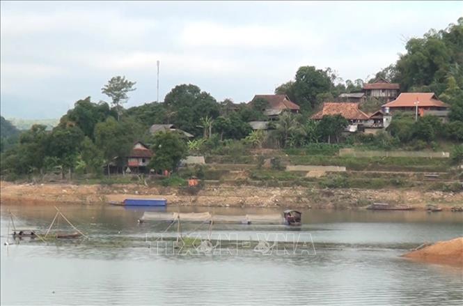 Một góc của xã nông thôn mới Pá Ma Pha Khinh, huyện Quỳnh Nhai, tỉnh Sơn La. (Ảnh: Nguyễn Cường - TTXVN)