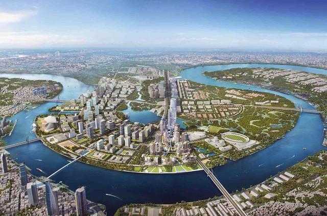 TP HCM thẩm định phê duyệt quy hoạch 1/500 để bán đấu giá 12 lô đất Khu đô thị mới Thủ Thiêm - Ảnh 1.