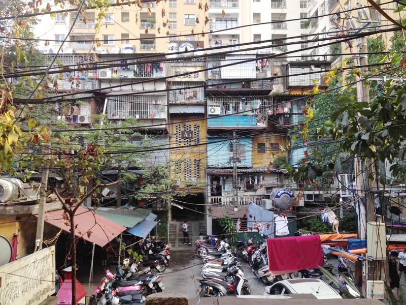 Cải tạo chung cư cũ: Gắn chặt với chính sách quy hoạch - Ảnh 1.