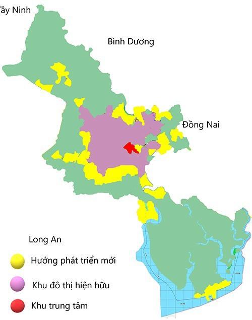 TP HCM nghiên cứu quy hoạch trung tâm hướng Tây Bắc - Ảnh 1.
