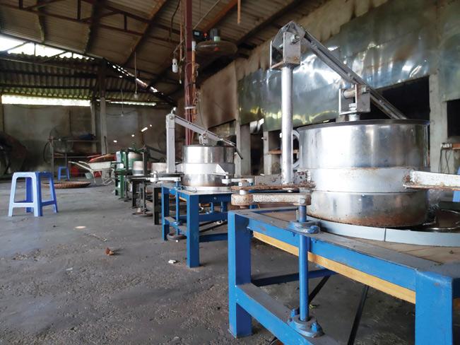 HTX Ngân Sơn Trung Long còn đầu tư máy móc hiện đại để chế biến chè hữu cơ.