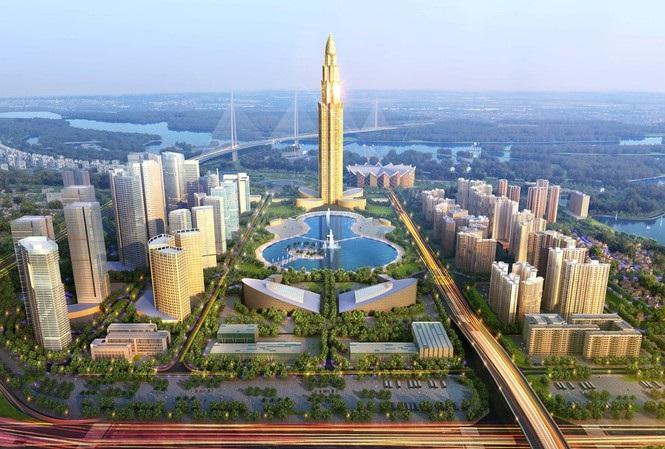 Phối cảnh siêu sự án Thành phố thông minh 4,2 tỷ USD.