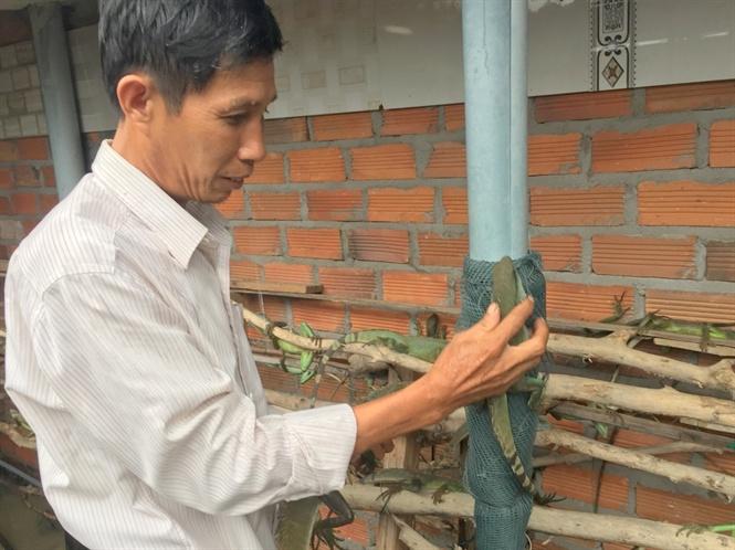 Ông Điền cho biết, nhờ nuôi kỳ tôm hiệu quả mà kinh tế gia đình ngày càng khá lên.