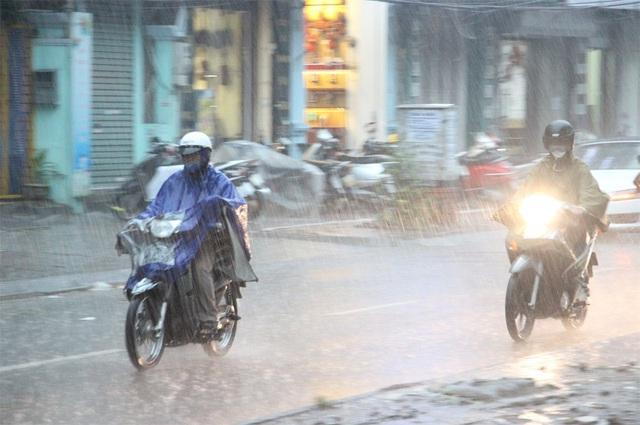 Bắc Bộ và Bắc Trung Bộ mưa to, có nơi mưa rất to.