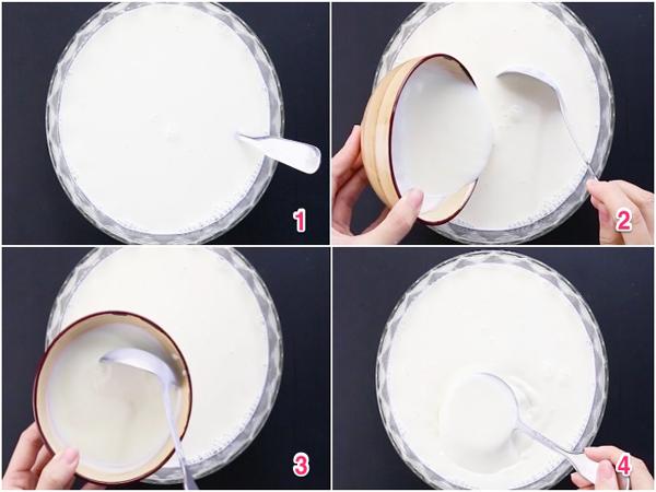 Cách làm sữa chua bằng nồi cơm điện - Ảnh 2.