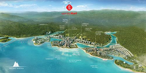 BIM Land và Lotte Việt Nam bắt tay xây trung tâm thương mại 750 tỷ đồng ở Hạ Long - Ảnh 1.
