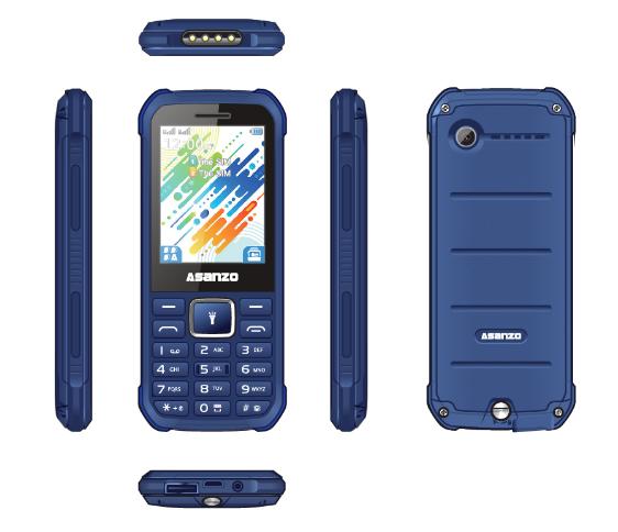 Asanzo ra mắt 2 mẫu điện thoại mới giá rẻ  - Ảnh 4.