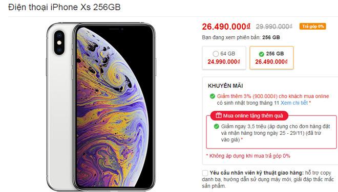 Những smartphone giảm giá dịp Black Friday, iPhone Xs Max giảm 4 triệu - Ảnh 3.