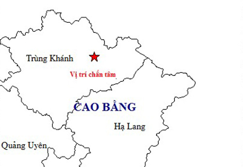 Hà Nội chịu rung chấn do động đất ở Cao Bằng - Ảnh 1.