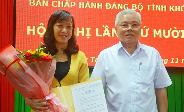 Quyết định của Ban Bí thư: Chủ tịch Hội Nông dân Sóc Trăng thêm chức vụ mới - Ảnh 1.
