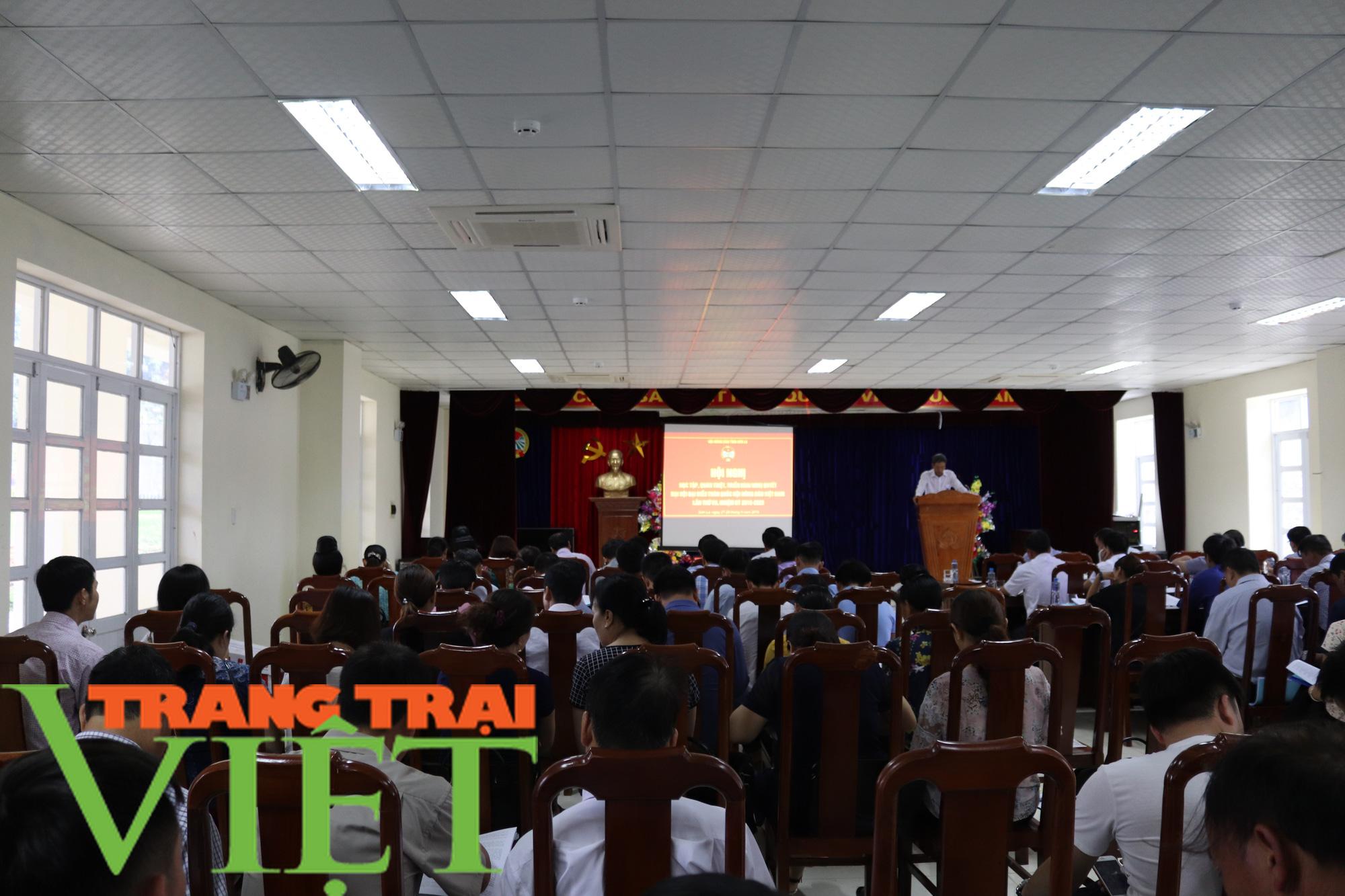 Hội Nông dân nâng cao trách nhiệm trong lãnh đạo công tác Hội  - Ảnh 1.