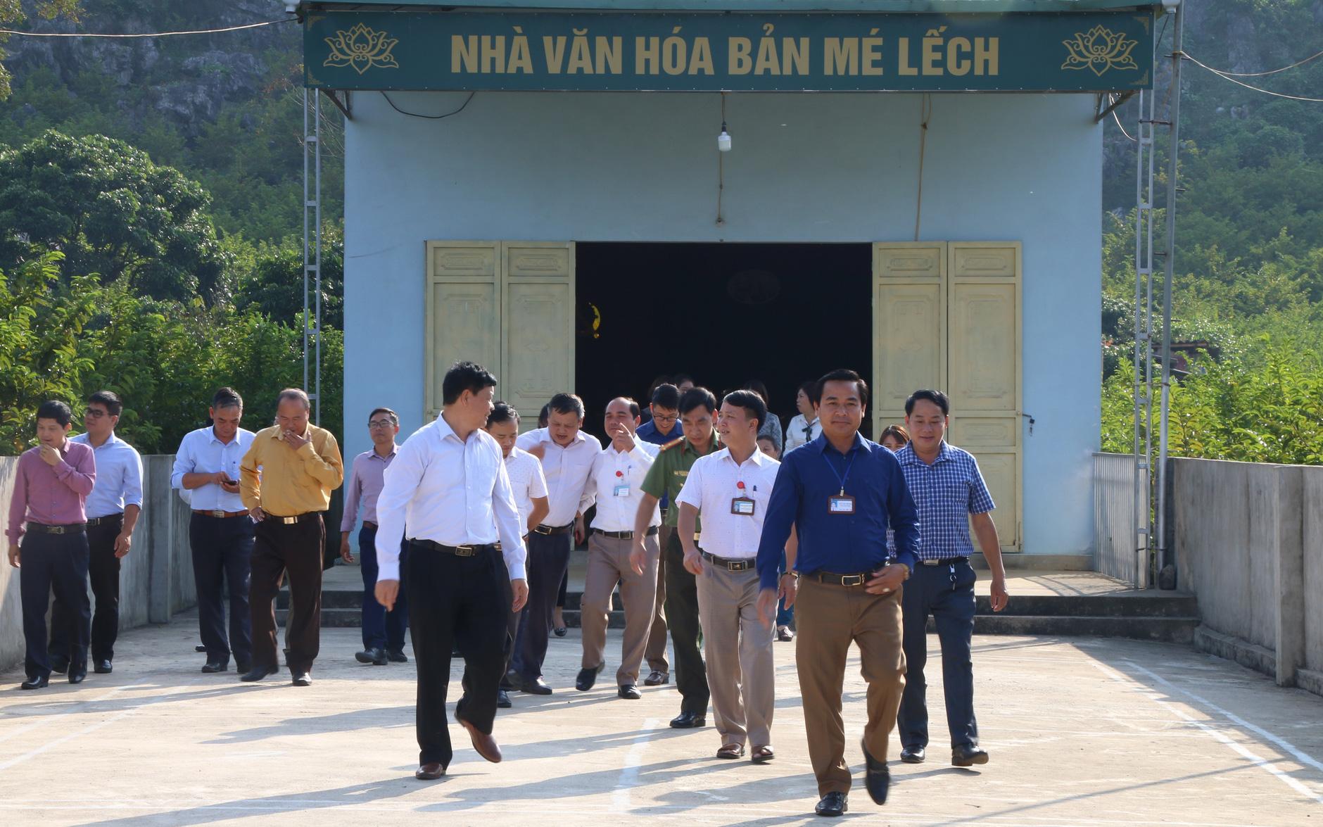 Sơn La: Thẩm định xã đạt chuẩn nông thôn mới Cò Nòi