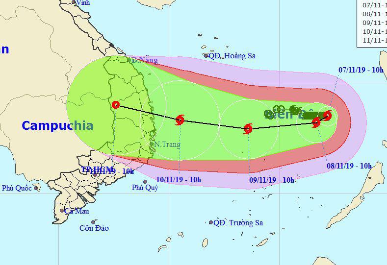 Bão số 6 diễn biến phức tạp vì phụ thuộc vào siêu bão Hạ Long - Ảnh 2.